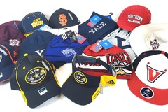 Liquidation Lot: (200) ALL Adidas NCAA Officially Licensed Hats, Beanies & Scarves