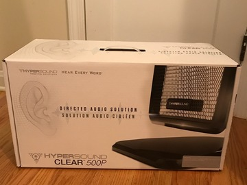 Buy Now: Lot of 29 Hypersound Clear 500p Surround Sound System MSRP $45000