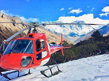 Offering with online payment: Everest base camp helicopter tour