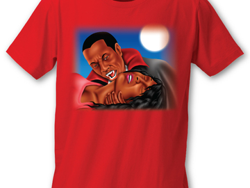 Selling with online payment: Blacula Tee