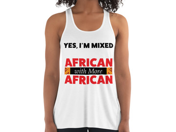 Selling with online payment: African Mixed Tee