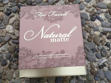 Venta: Natural matte de Too Faced