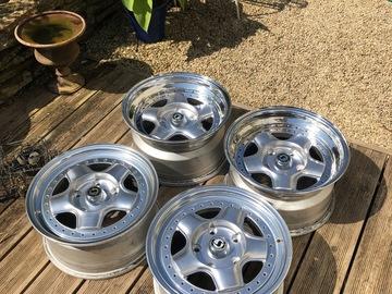 Selling: Schmidt Modern Line 3-piece wheels 15x7.5 & 15x8