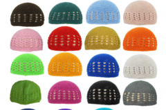 Buy Now: 200 Liquidation handmade crochet baby hats, beanies. $0.85 Each