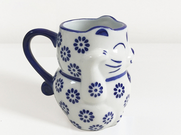 : Lucky Cat Toby Jug