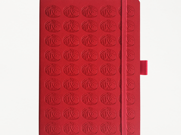 : Baozi Notebook - China Red