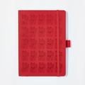 : Lucky Cat Notebook - China Red