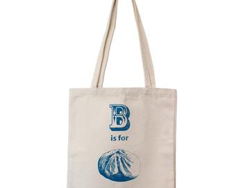 : B is for Baozi Tote Bag