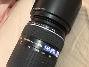 Myydään: Olympus Zuiko 70-300mm f/4-5.6 ED -objektiivi