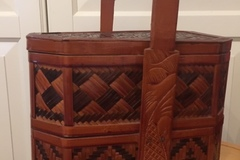 Selling without online payment: Bamboo basket