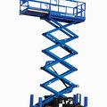 Weekly Equipment Rental: 7.9m Electric Scissor Lift Weekly Hire