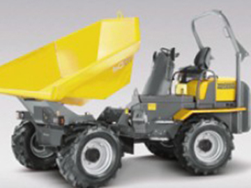 Weekly Equipment Rental: 6 Tonne Dumper - Swivel Tip