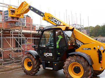 Weekly Equipment Rental: 7m Telehandler Weekly Hire