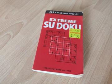 Giving away: sudoku book