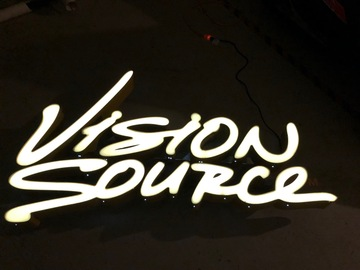 Selling with online payment: Vision Source sign