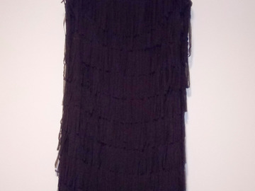 Selling: Black flapper-style cocktail dress