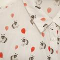 Myydään: Women's blouse – racoons with balloons