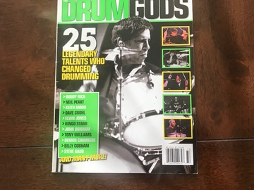 """Selling with online payment: MODERN DRUMMER """"DRUMGODS"""""""