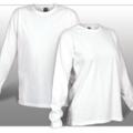 Liquidation Lot: Women's White Long Sleeve Tee Shirts