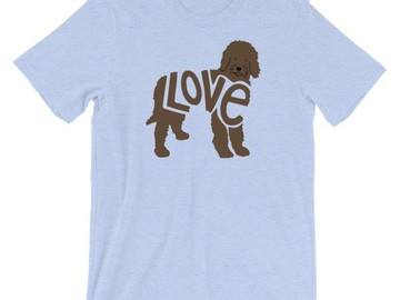 Selling: LoVe Style - Labradoodle - Dark Brown design