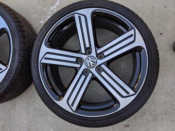 """Selling: VW Golf GTI R Cadiz 19"""" wheels & tires"""