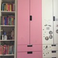 Giving away: Pink Kids Ikea cupboard