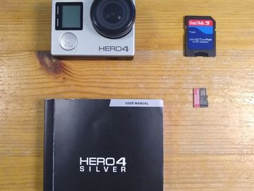 Selling: GoPro Hero 4  Silver + Accessories