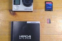 Myydään: GoPro Hero 4  Silver + Accessories