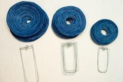 Ilmoitus: Sinisiä riisipaperipalloja