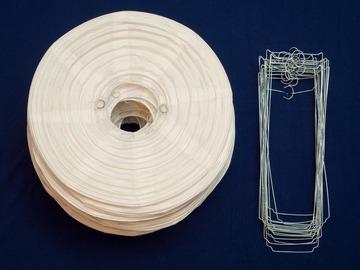 Ilmoitus: Valkoisia riisipaperipalloja