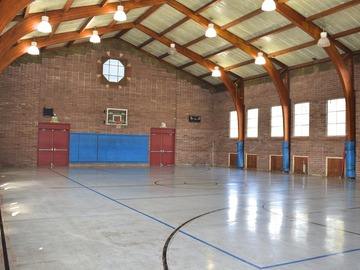 Available To Book & Pay (Hourly): Basketball Gym for Rent