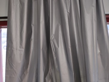 Selling: two 200cm*200cm light-blocking curtains.