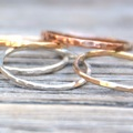 Group class : MOMS NIGHT! Make Sterling Silver Stacking Rings