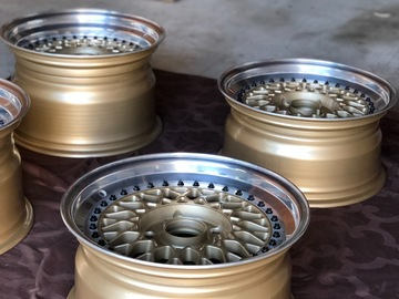"Selling: Genuine BBS RS 16"" 056 057"