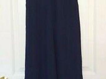 Selling: Navy blue and white slip dress