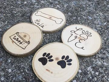 Selling: Pawsome Dog Coasters Set of 4