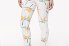 Buy Now: 10 Pairs of HUE Tropical Leggings ($400 Retail)