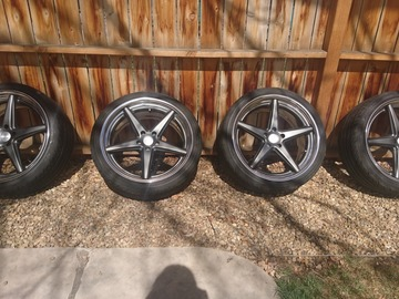 Selling: Vossen Work VWS-3 20x9.5+40 with yokohama s-drives 245/35/r20