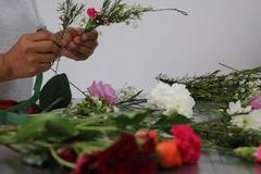 Class Online Payment: Flower Crown Design