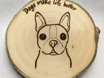 Selling: Boston Terrier Magnet
