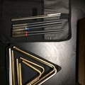 SOLD!: SOLD! Set of 4 Grover triangles, 7 beaters, 2 bags, Free shpg
