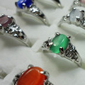 Buy Now: 1000 pcs Assorted Fashion Alloy Opal Ring Retail $10000