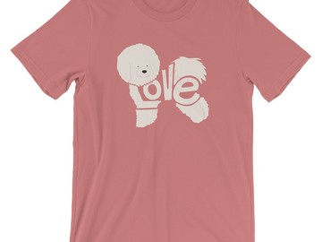 Selling: LoVe T-shirt - Bichon Frise Edition