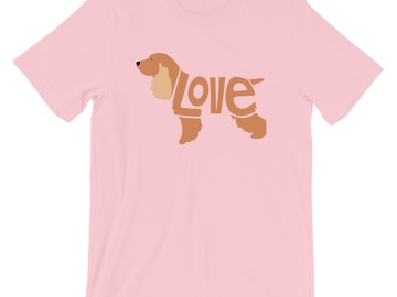 Selling: LoVe T-Shirt - Cocker Spaniel Edition