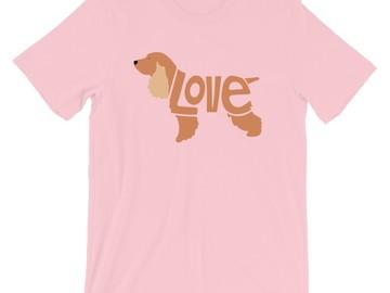 Selling: LoVe T-Shirt - Cocker Spaniel Edition - Free Shipping