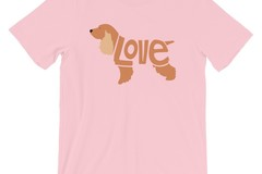 Selling: LoVe T-Shirt - Cocker Spaniel Edition