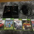 Selling: XBOX360 console (250GB) and 2 controller
