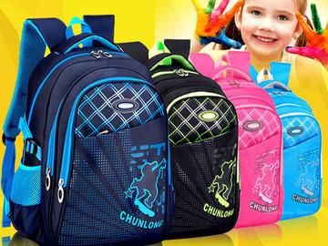 Buy Now: (30) Student lightweight waterproof school backpack