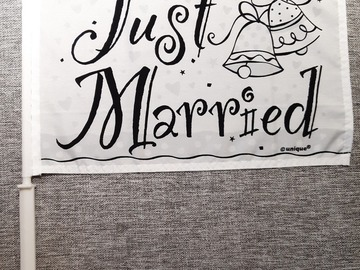 Ilmoitus: Just Married - viiri