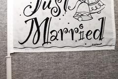 Ilmoitus: Just Married - viiri